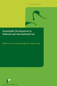 Sustainable development in national and international law