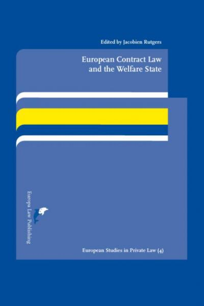 European Contract Law and the Welfare State